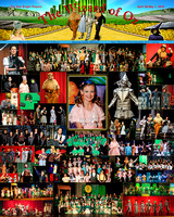 Wizard of Oz Poster, Portraits & Groups