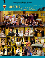 Arsenic & Old Lace Poster and Cast