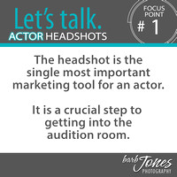 Let's Talk Actor Headshots